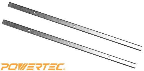 POWERTEC 128035 12-12-Inch HSS Planer Knives for Craftsman 21758 Set of 2