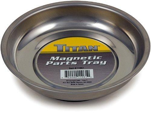 Titan Tools 11061 Mini Magnetic Parts Tray