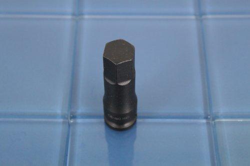 TEMO H-19 3 Long Black Impact Hex Socket Bit 12 Drive 4C1