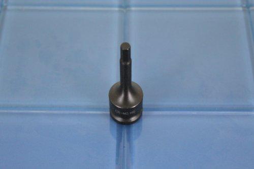 TEMO H-6 3 Long Black Impact Hex Socket Bit 12 Drive 4C6
