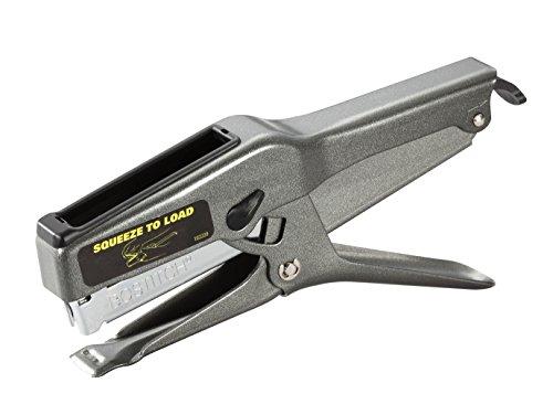 Bostitch B8  Heavy Duty 45 Sheet Plier Stapler Full-Strip Black 02245