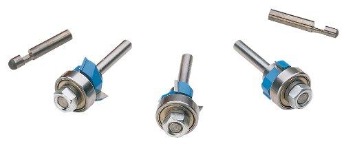 Roman Carbide DC1676 Professional Laminate Trim Set 14-Inch Shank
