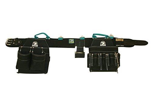 Professional Electricians Tool Belt Combo w Padded Comfort Belt Large 35-39 inch Waist