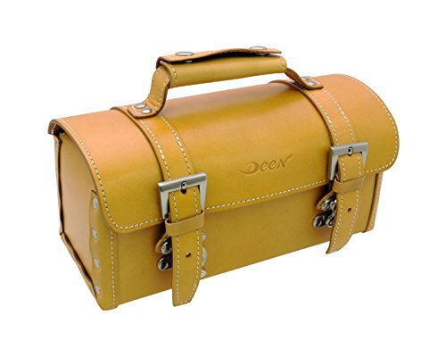 DEEN DEEN Leather Tool Bag honey brown colorcopy