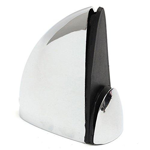 Glass Shelf Support - TOOGOOR 4 X Polished Chrome Glass Shelf Support Clamp Brackets Bathroom For Shelves 3840mm