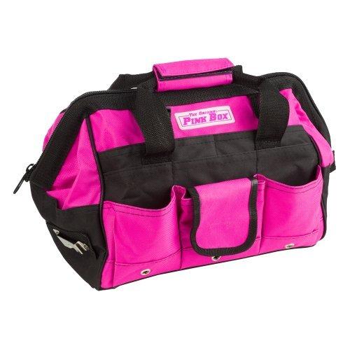 The Original Pink Box PB12TB 12-Inch Tool Bag Pink by The Original Pink Box
