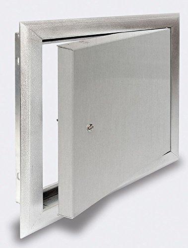 Premier 2400 Series Aluminum Universal Access Door 12 x 12 Screwdriver Latch