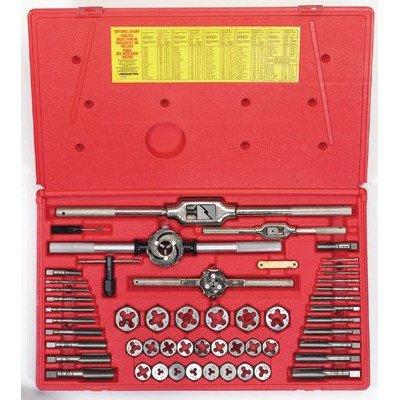 Irwin 26394 53-pc Metric Tap Hex Die Set