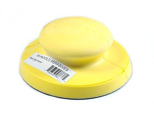 Sungold Abrasives 98910 Hand Sanding Block for Hook Loop Discs 5