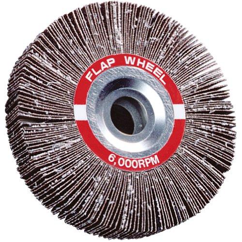A&H Abrasives 101021 Misc Flapwheel 6x2x1 Aluminum Oxide 80 Grit Flap Wheel