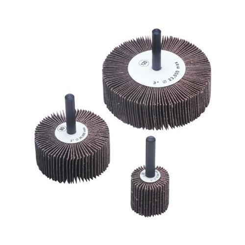 CGW Abrasives 39979 1-12X1X14-20 ALUM OXIDE 80 GRIT FLAP WHEEL
