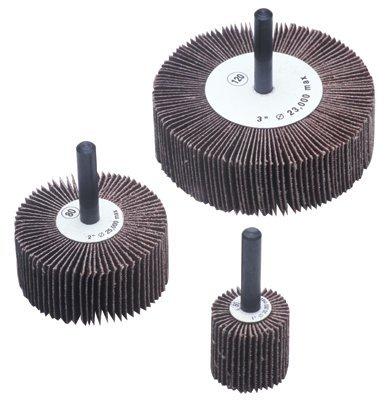 Flap Wheels - 3x1x14 alum oxide 80 grit flap wheel