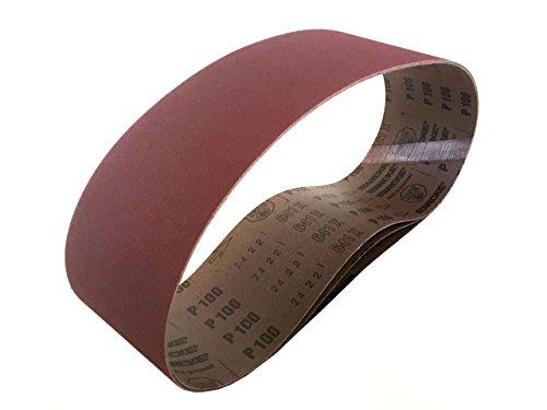 Sanding Belts 4 X 36 Aluminum Oxide Cloth Sander Belts 3 Pack 24 Grit