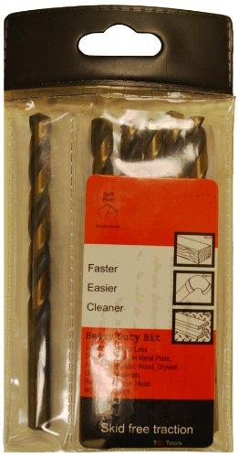 Heavy Duty Drill Bit with Split point 932-Inch 6-Piece Multi-Pack