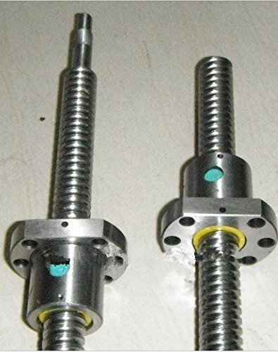 GOWE Ball screw 1 PCS RM1605-1500MM 1PCS RM1605-1300MM 2nut