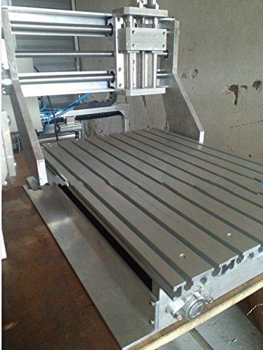 GOWE wood router cnc engraving machine cnc DIY CNC frame 15mm thick aluminum alloy ball screw machine tool 300x400x95MM