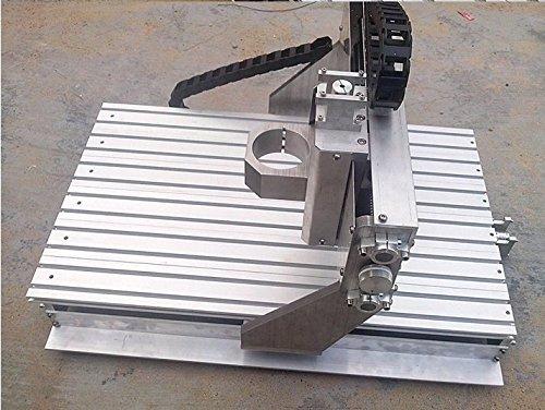 GOWE wood router cnc engraving machine cnc DIY CNC frame 15mm thick aluminum alloy ball screw machine tool 400x600x95MM