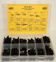 315 Piece Push and Screw Rivets Assortment