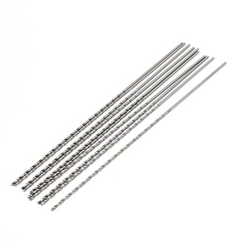 10 Pcs Straight Shank 95mm Flute Long 15mm Dia Drill Twist Bit