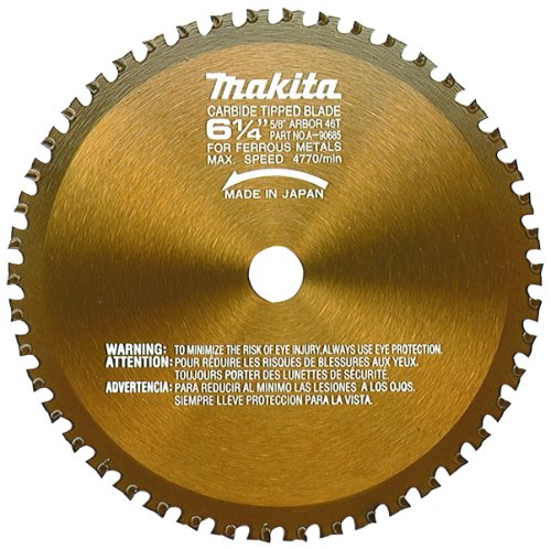 Makita A-90685 6-14-Inch 46 Tooth Metal Cutting Saw Blade with 58-Inch Arbor