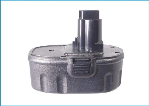 Battery2go Battery fit to Dewalt DW934 DW056KS DCG411KL DW932 DC618K DC759 DC380KA DC490KA DC495B