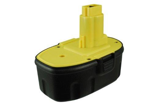 Battery2go Ni-MH BATTERY Pack Fits Dewalt DC725KB DW938K DC380N DW999K DC821KA DC926KA DC820B DC495B DW988