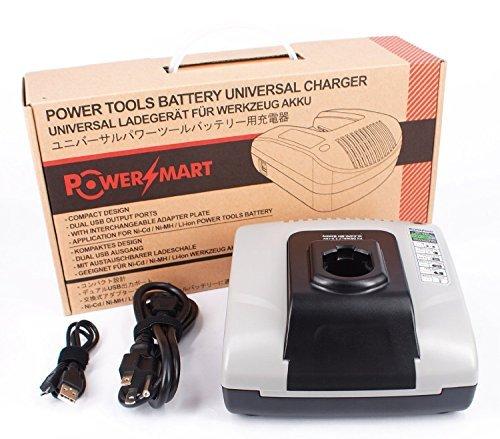PowerSmart 72-18V DW9109 Charger for DEWALT DC411B DC490B DC495B DW9095 DW9096 DW9098