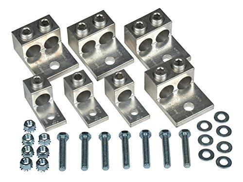 14 Piece Mechanical Set-Screw Type Transformer Lug Kit 225 KVA 3 Phase