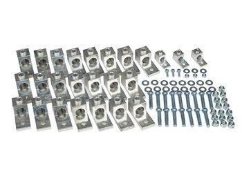 44 Piece Mechanical Set-Screw Type Transformer Lug Kit 100-167 KVA 1 Phase150-300 KVA 3 Phase