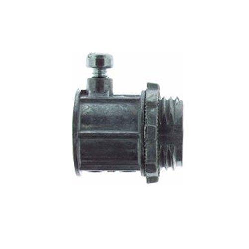 Thomas Betts TC222-SC-5 34-Inch Electrical Metallic Tubing Set Screw Type Connector Die Cast Zinc 5-Pack