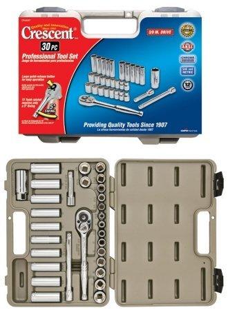 Apex Tool Group - Tools 30-Piece Professional Tool Set CTK30SET