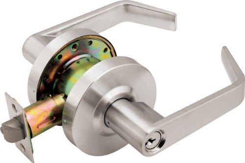 Legend 809291 Grade 2 Commercial Duty Front Door Entry Leverset Lockset Master Keyed ADA US26D Satin Chrome Finish