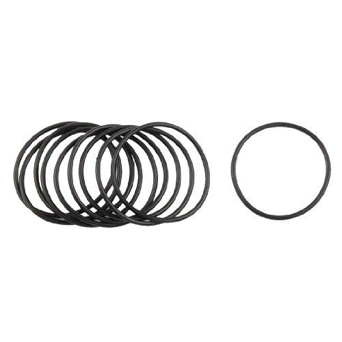 10 Pcs 37mm x 41mm x 2mm Nitrile Rubber Sealing O Ring Gasket Washer