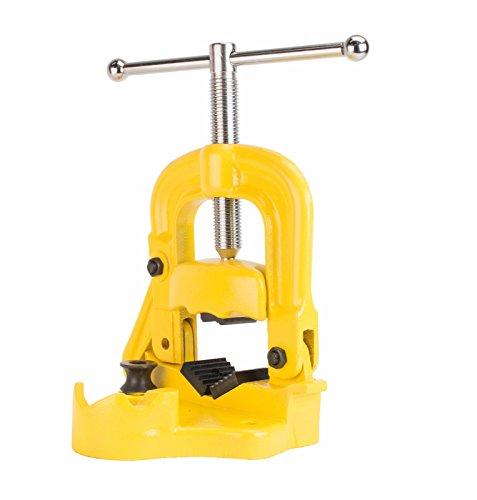Steel Dragon Tools 40100 18- 4 Bench Yoke Pipe Vise fits RIDGID Model 25