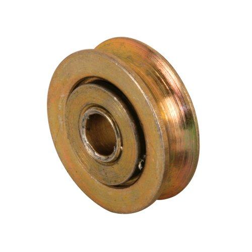 Slide-Co 112176 Screen Door Rollers 1-Inch Steel Ball Bearing WheelPack of 2
