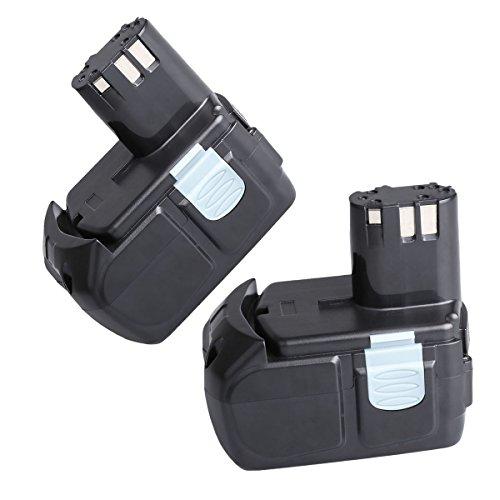 "2 Pack SANCCâ""¢ 18V 4000MAh Lithium-Ion HXP Battery Pack for Hitachi BCL1815 EBM1830"