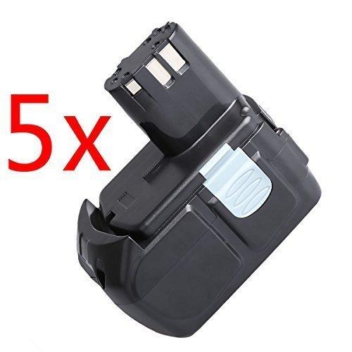 "Hitachi EBM1830 Battery 5 Packs CREJOYâ""¢ 18V 40Ah Lithium-Ion HXP Battery Pack for Hitachi BCL1815 EBM1830"
