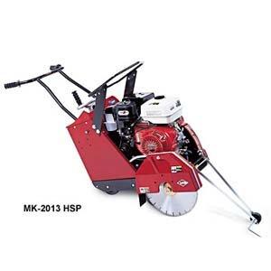 MK-2013SSP 18 Self-Propelled Concrete Saw w Subaru EH410