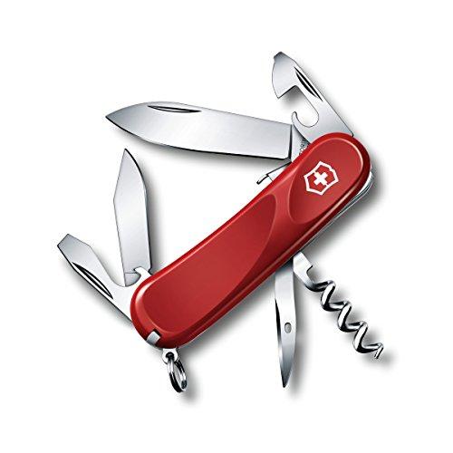 Victorinox Swiss Army Multi-Tool Evolution S101 Pocket Knife Red