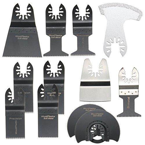 BABAN 12Pcs High-class Universal Oscillating Multi Tool Saw Blades Set For Oscillating Saw Blades Tool Kit