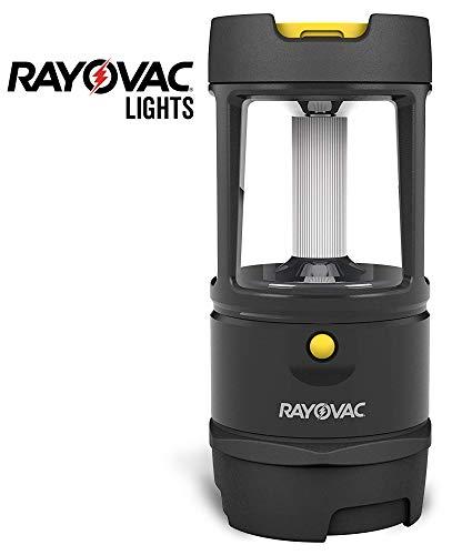 Rayovac Virtually Indestructible LED Camping Lantern Flashlight 600 Lumens Battery Powered LED Lanterns for Hurricane Supplies Survival Kit Camping Accessories IP67 Waterproof