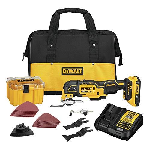 DEWALT 20V MAX XR Oscillating Multi-Tool Kit Variable Speed DCS356D1