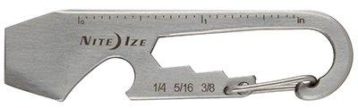 Nite Ize KMT-11-R3 DoohicKey Keychain Multi-Tool Stainless - Quantity 1