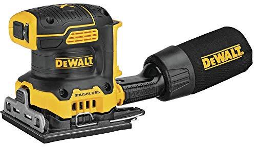 DEWALT DCW200B 20V MAX XR Brushless Cordless 14 Sheet Variable Speed Sander Tool Only