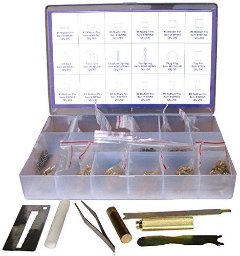 Kwikset Compatible Rekeying set Rekey kit Box 5 Tool 200 Pin Locksmith