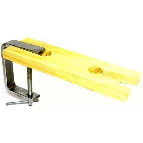 V-Slot Jewelers Bench Pin Filing Block Anvil Clamp Tool