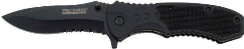 TAC FORCE BLACK TACTICAL Pocket Knife Folding Blade NEW