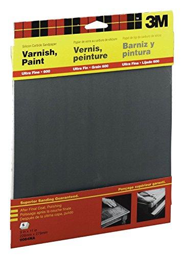 600 Wet-Or-Dry Sandpaper 5Pk