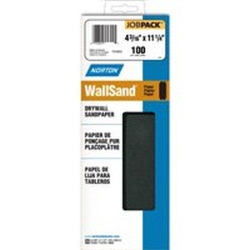 Norton 04746 4 X 11 100D Grit Drywall Sandpaper Sheets 25 Count