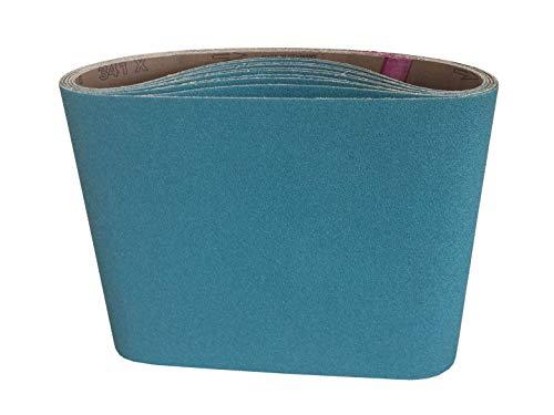 7-78 x 29-12 Floor Sanding Belts Zirconia Cloth Belts 5 Pack 50 Grit